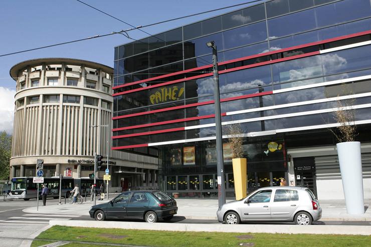Itineraire Centre Ville Grenoble Pathe Chavant